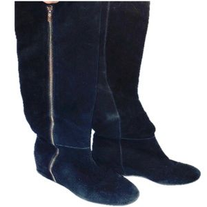 BCBGenerations Suede over the knee boot